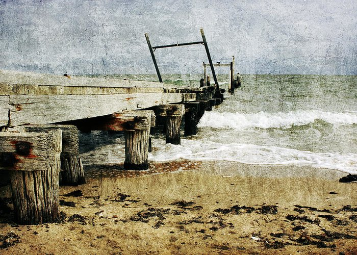 Beach Greeting Card featuring the photograph Soul Reaver by Andrew Paranavitana