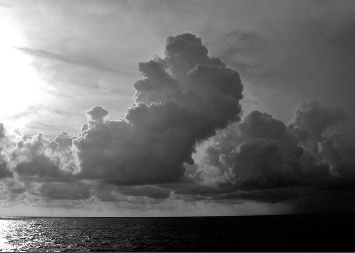 South Pacific Greeting Card featuring the photograph South Pacific Sky by Eric Tressler