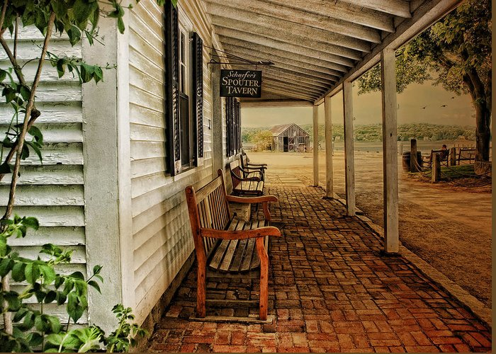 Covered Porch Greeting Cards
