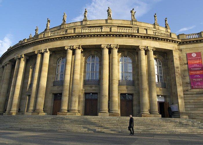 Stuttgart Greeting Card featuring the photograph Staatstheater State Theater Stuttgart Germany by Matthias Hauser