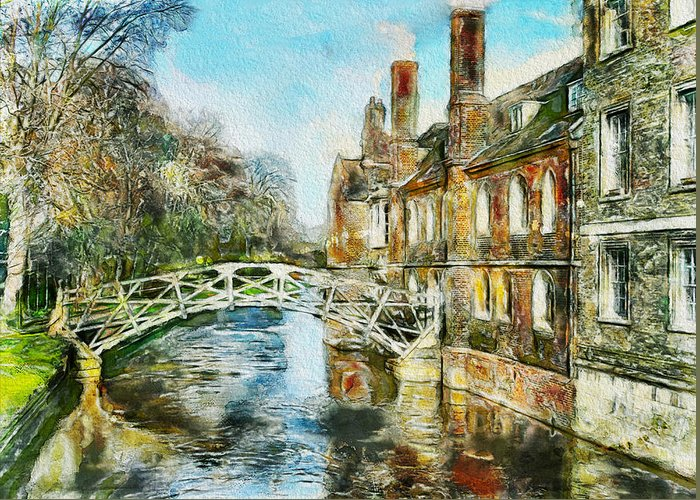 Stamford Greeting Card featuring the photograph Stamford Bridge by Yury Malkov