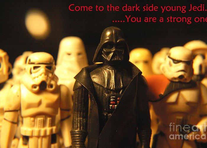 Star Wars Greeting Card featuring the photograph Star Wars Gang 4 by Micah May