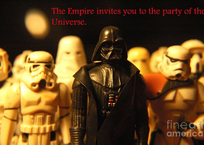 Star Wars Greeting Card featuring the photograph Star Wars Gang 5 by Micah May