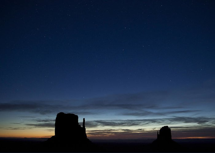 Star Greeting Card featuring the photograph Starry Skies In The West by Andrew Soundarajan