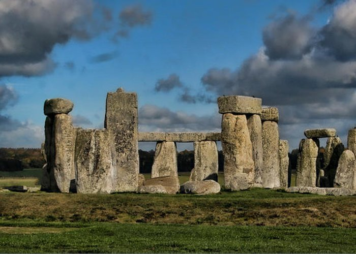 Stonehenge Greeting Card featuring the photograph Stonehenge by Heather Applegate