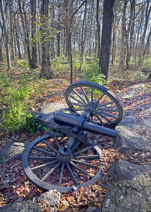 Usa Greeting Card featuring the photograph Stones River Battlefield by Luc Novovitch