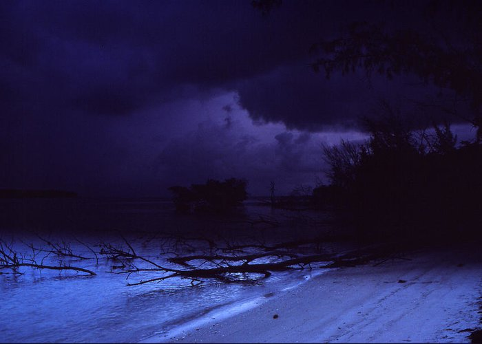 Storm Greeting Card featuring the photograph Storm At Dawn by Bob Whitt