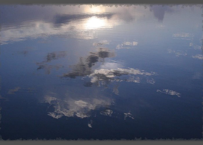 Spruce Creek Greeting Card featuring the photograph Sunrise Cloud Reflections by Mike Moore