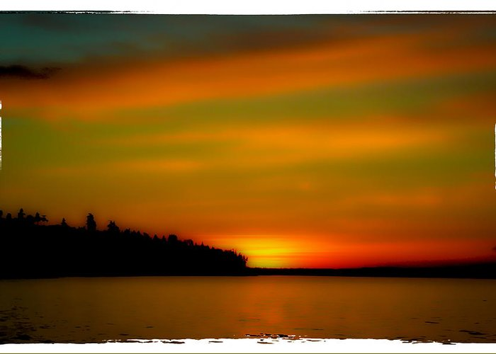 Redondo Greeting Card featuring the photograph Sunset At Redondo by David Patterson