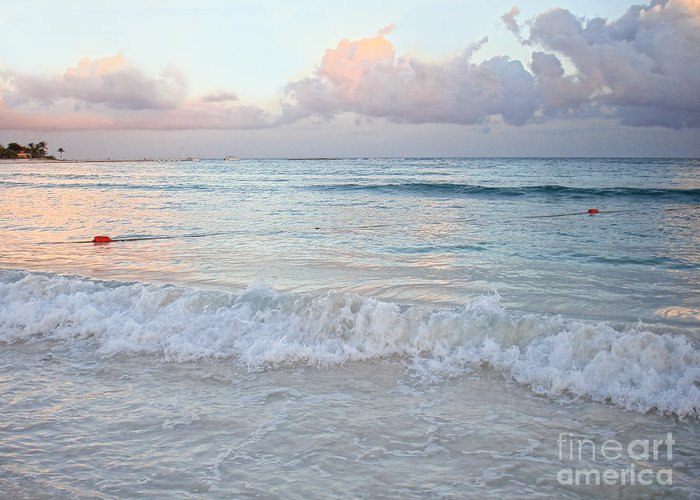 Barcelo Resort Greeting Card featuring the photograph Sunset At The Beach Yucatan Peninsula Mexico by Renata Ratajczyk