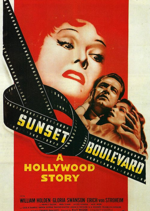 Sunset Boulevard Greeting Card featuring the photograph Sunset Boulevard by Georgia Fowler