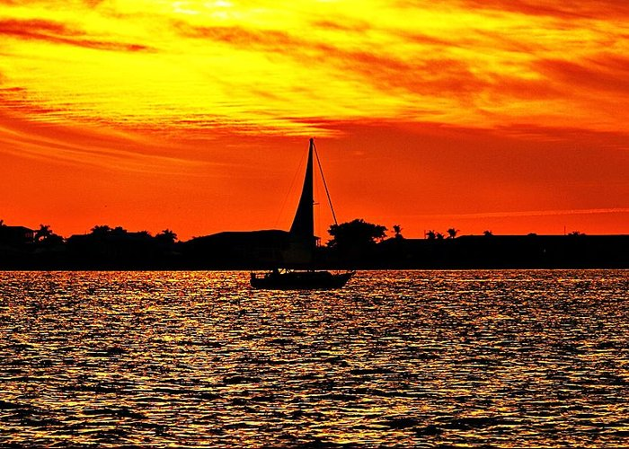 Sunset Greeting Card featuring the photograph Sunset Xxxiv by Joe Faherty