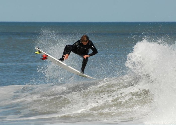 Surfer Art Greeting Card featuring the photograph Surfing 399 by Joyce StJames