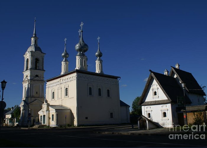 Suzdal Greeting Card featuring the photograph Suzdal 22 by Padamvir Singh