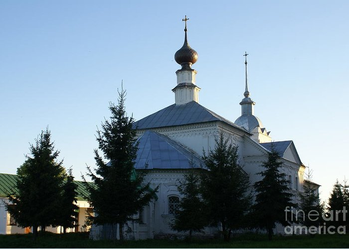 Suzdal Greeting Card featuring the photograph Suzdal 28 by Padamvir Singh