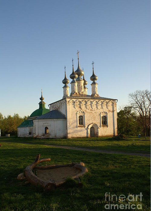 Suzdal Greeting Card featuring the photograph Suzdal 32 by Padamvir Singh
