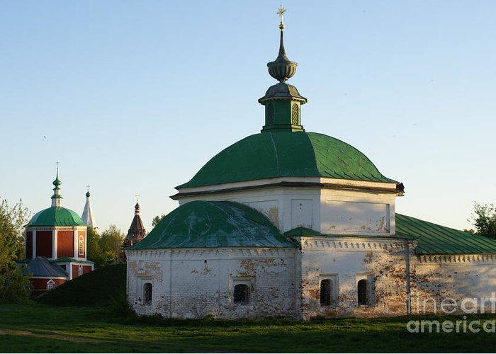 Suzdal Greeting Card featuring the photograph Suzdal 34 by Padamvir Singh