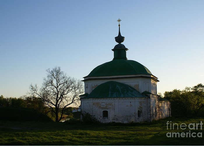 Suzdal Greeting Card featuring the photograph Suzdal 35 by Padamvir Singh