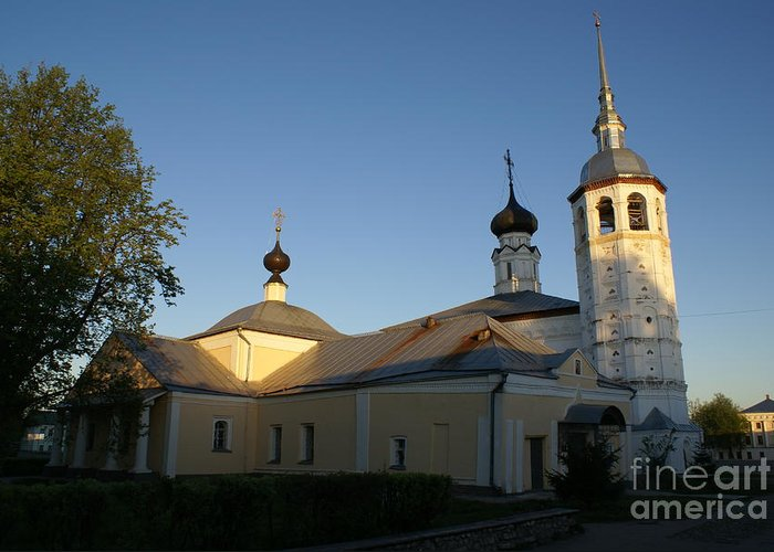Suzdal Greeting Card featuring the photograph Suzdal 39 by Padamvir Singh