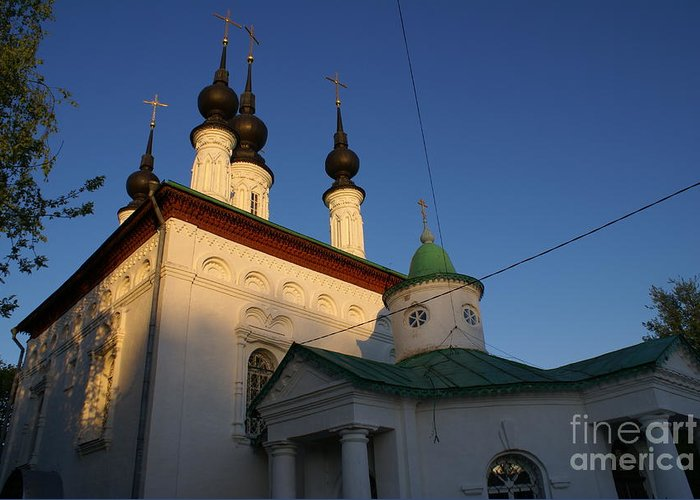 Suzdal Greeting Card featuring the photograph Suzdal 42 by Padamvir Singh