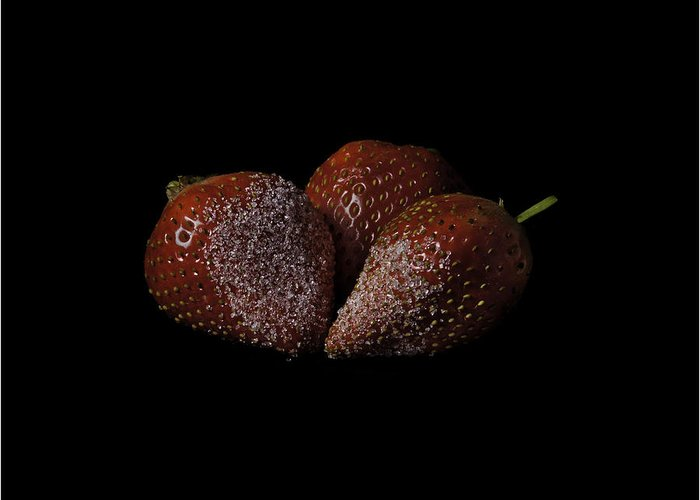 Strawberry Greeting Card featuring the photograph Sweet And Tasty by Nigel Jones
