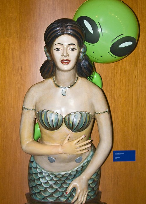 Alien Mermaid Greeting Card featuring the photograph Sweet Nothings by Richard Henne