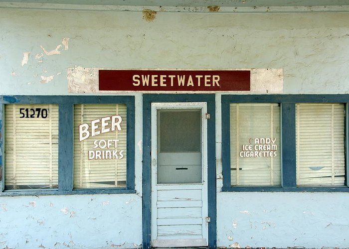 Beer Greeting Card featuring the photograph Sweetwater Store by Jeff Lowe