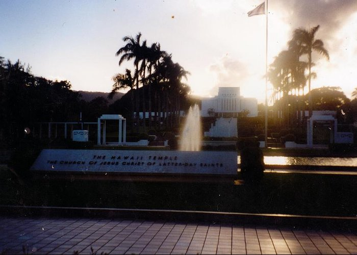 Arizona Memorial Greeting Card featuring the photograph The Arizona Memorial by Anne-Elizabeth Whiteway