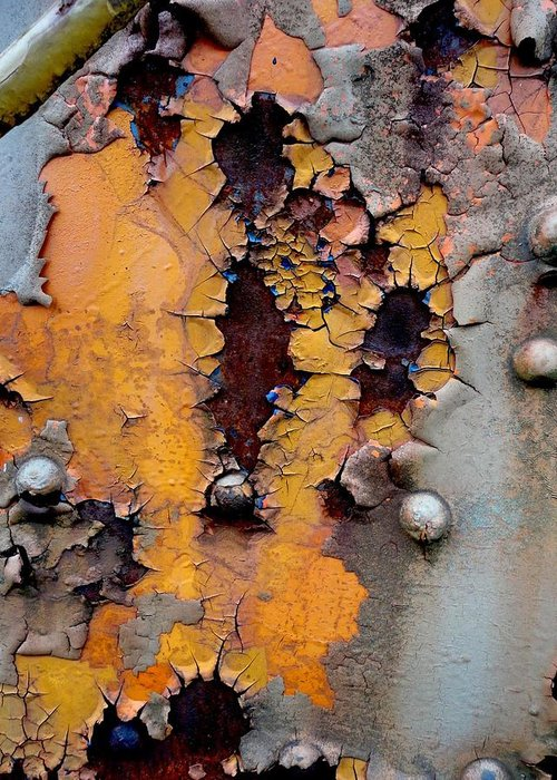 Rust Greeting Card featuring the photograph The Beauty Of Aging by The Art With A Heart By Charlotte Phillips