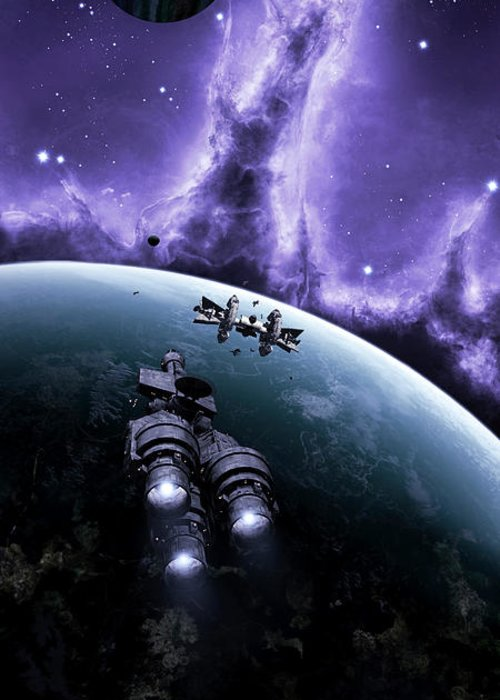 Artwork Greeting Card featuring the digital art The Blockade Runner Treacherous by Brian Christensen
