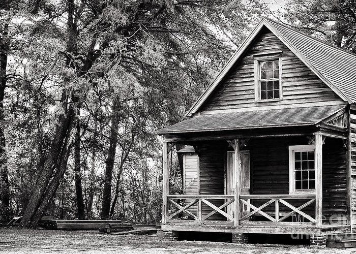The Cabin Greeting Card featuring the photograph The Cabin by John Rizzuto