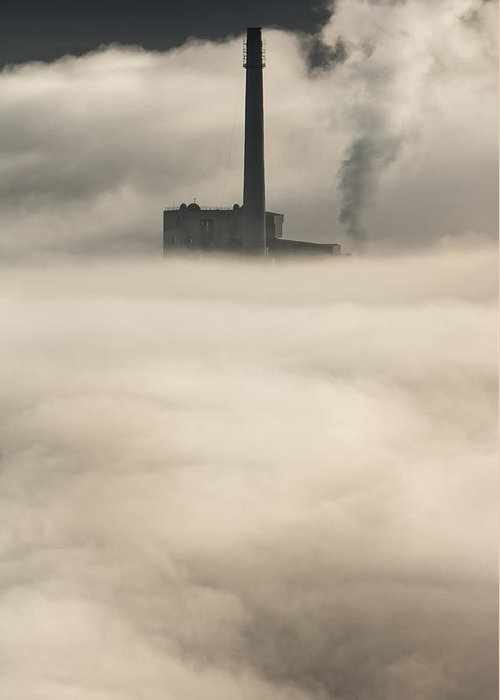 Peak District Greeting Card featuring the photograph The Cloud Factory by Andy Astbury