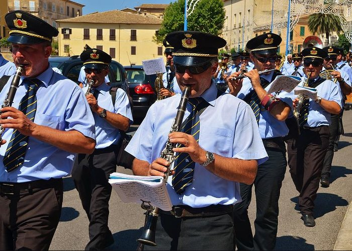 Music Greeting Card featuring the photograph The Fanfare by Dany Lison
