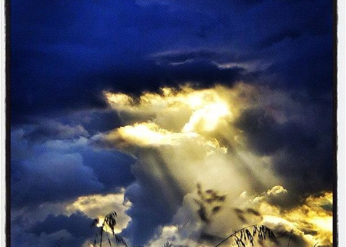 Primeshots Greeting Card featuring the photograph The Gap In The Clouds by Carl Milner