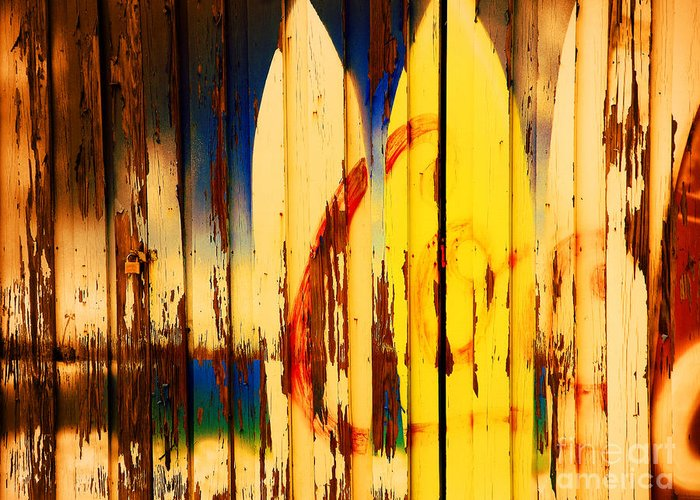 Surfboards Greeting Card featuring the photograph The Good Old Days Of Surfing by Susanne Van Hulst