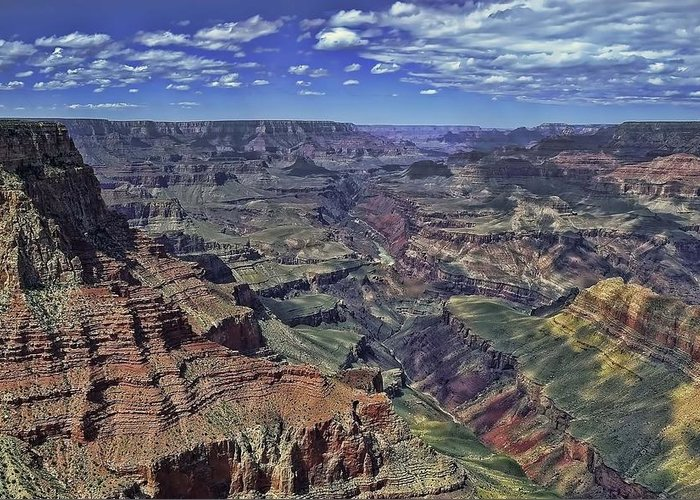 South Greeting Card featuring the photograph The Grand Canyon by Renee Hardison
