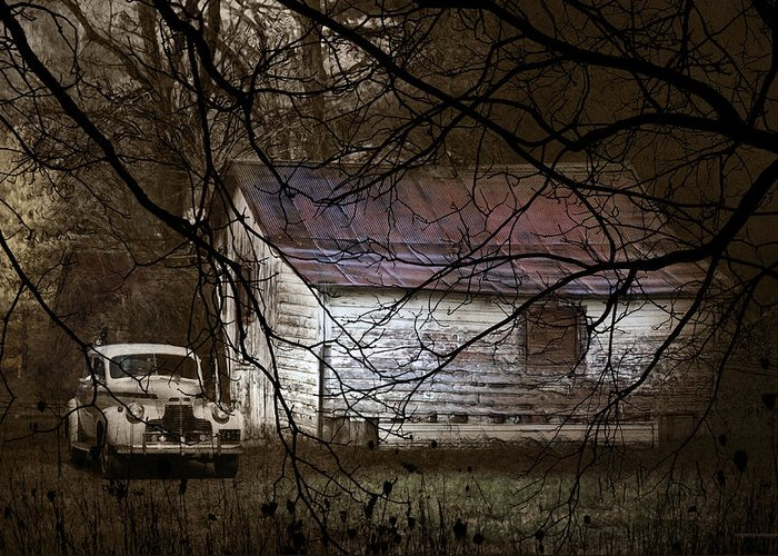 Ron Jones Greeting Card featuring the photograph The Hideout by Ron Jones