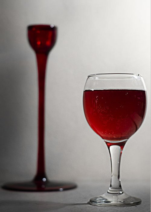 Picture Greeting Card featuring the photograph The Promised Wine by Catalin Scarlat