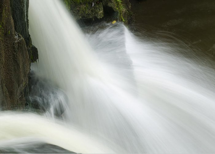 Photography Greeting Card featuring the photograph The Second Lahuarpia Falls, Lahuarpia by Nigel Hicks