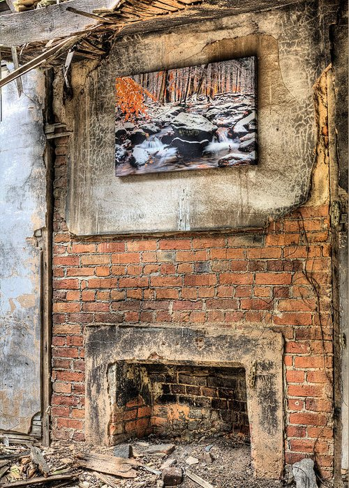 The Value Of Art Greeting Card featuring the photograph The Value Of Art by JC Findley