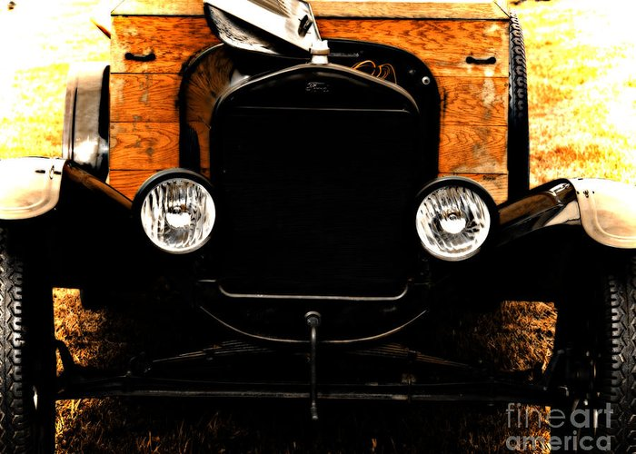 Cars Greeting Card featuring the photograph Things That Crank by Steven Digman