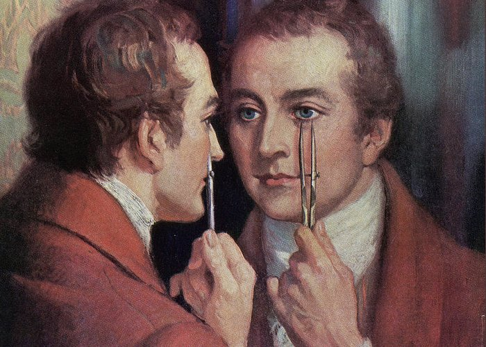 1800s Greeting Card featuring the photograph Thomas Young, English Polymath by Science Source