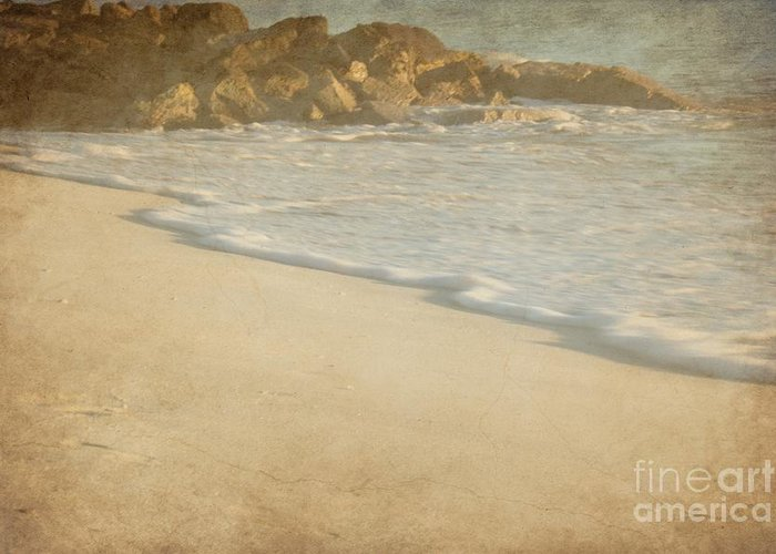 Tide Greeting Card featuring the photograph Tide by Sophie Vigneault