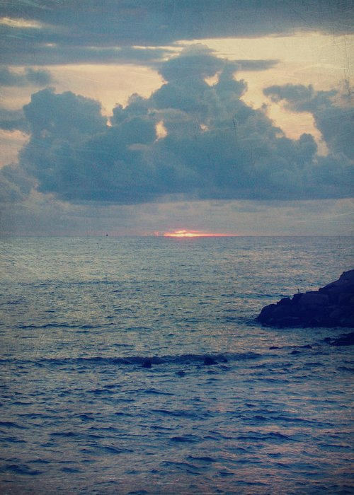 Puerto Vallarta Greeting Card featuring the photograph To The Ends Of The Earth by Laurie Search