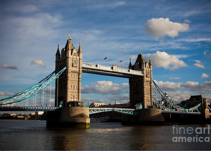 London Greeting Card featuring the photograph Tower Bridge by Steven Gray