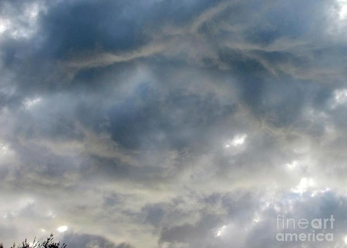 Cloud Prints Greeting Card featuring the photograph Troubled Sky by Greg Geraci