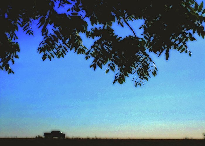 Truckin Greeting Card featuring the photograph Truckin' by Molly McPherson