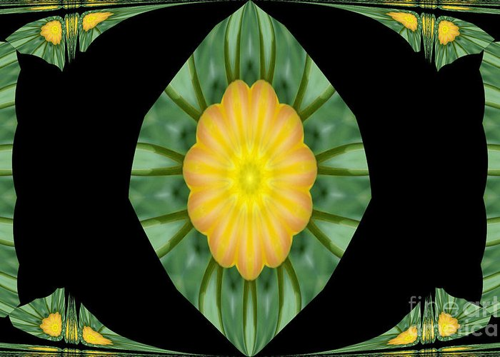 Digital Design Greeting Card featuring the photograph Tulips 2 by Mark Gilman