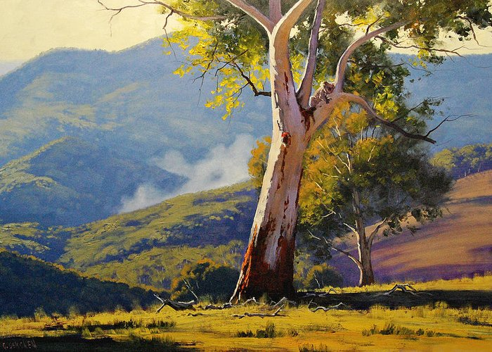 Gum Trees Greeting Cards