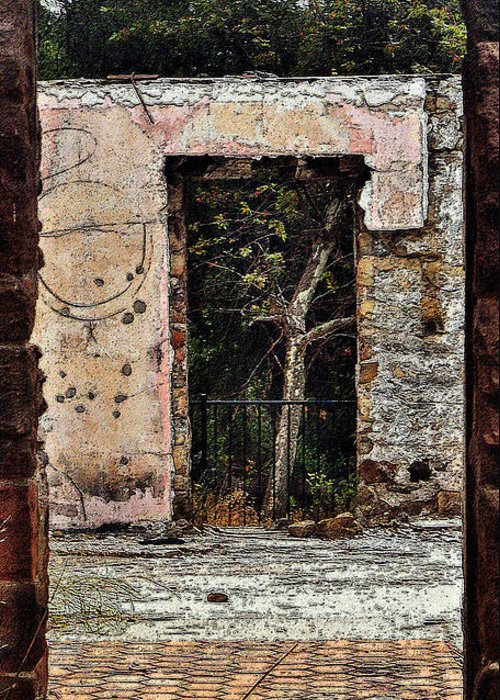 Doorways Greeting Card featuring the photograph Untitled by Daniele Smith